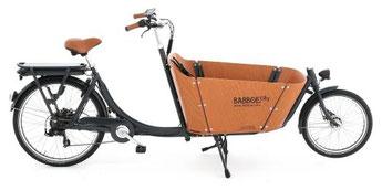 Babboe Lastenfahrrad mit Elektromotor City-E
