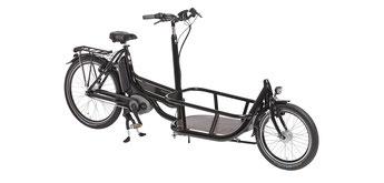 Lastenfahrräder, e-Cargobikes und Lasten e-Bikes von Pfau-Tec 2019