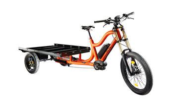 XCYC Pickup Work 2.0 Lasten e-Bike / Lastenfahrrad mit Elektromotor von Bosch