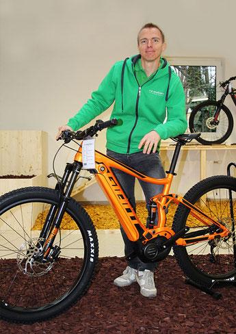 Stefan Wallner  Geschäftsführung e-motion e-Bike Welt Wien