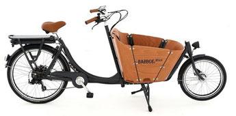 Babboe Lastenfahrrad mit Elektromotor Mini-E