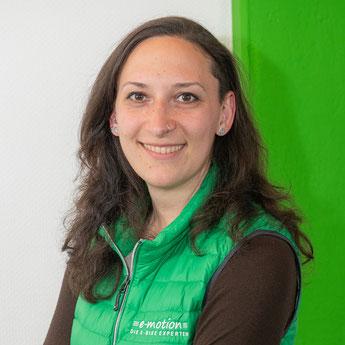 Anja aus dem Lastenfahrrad-Zentrum Kempten