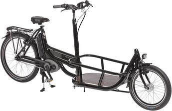 Pfau-Tec Carrier, Lasten e-Bike, Lastenrad mit Elektromotor, Cargo e-Bike 2017