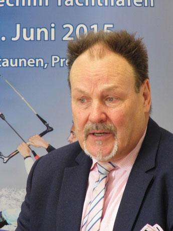 Bernd Fischer, Geschäftsführer des Tourismusverbandes Mecklenburg-Vorpommern