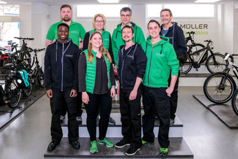 Team e-motion e-Bike Welt Dietikon