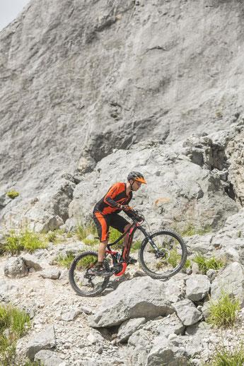 e-Mountainbike Typen probefahren und vergleichen in der e-motion e-Bike Welt Bern