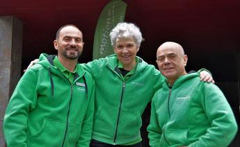 Das Team der e-motion e-Bike Welt in Hombrechtikon