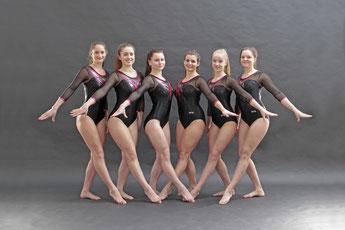 Von links: Jennifer Illenseer, Annika Drescher, Leoni Ness, Goneta Dervisholli, Paula Hildebrand und Ellen Lipps