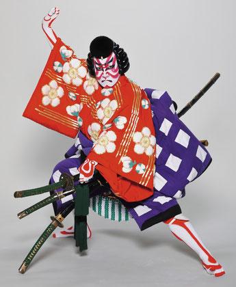 歌舞伎学習鑑賞会(演目名:菅原伝授手習鑑(車引き)での坂東亀蔵さんの姿)