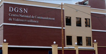Le Centre National de Commandement de la vidéo surveillance inauguré en 2019