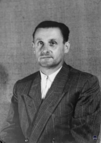 Herr Willy Schmidt, der Namensgeber.