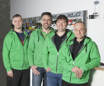Das e-motion e-Bike Team in Ulm