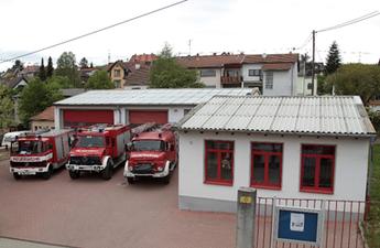Feuerwehrgerätehaus Herrensohr nach dem Umbau 1999, Foto: Archiv Feuerwehr Dudweiler