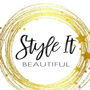 style it beautiful event decor, stylish gifts, beautiful gifts, home styling, wheathampstead based business, style it beautiful logo