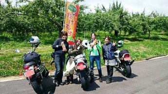 りんご屋たけむら バイク