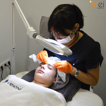 higiene facial mei madrid