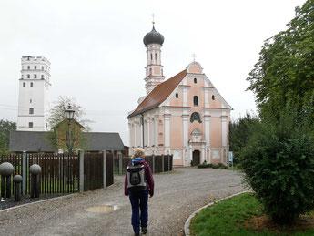 Fuggerschloss bei Biberbach in Bayern