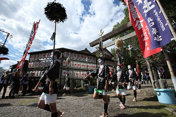 Kinomoto Shrine Annual Festival