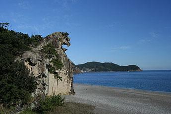 """World heritage """"Shishiiwa"""""""