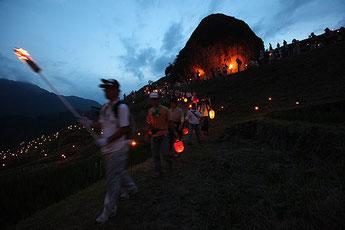 Maruyama Senmaida Torch Procession