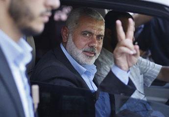 Ismaïl Haniyeh, responsable du Bureau politique du mouvement Hamas - Photo: Archives Info-Palestine.eu