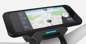 Die GPS Funktion navigiert Sie auch ohne WLAN oder mobile Daten per Sprachsteuerung