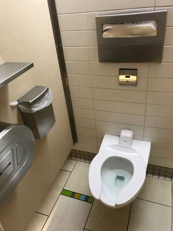 WC am Flughafen Nassau