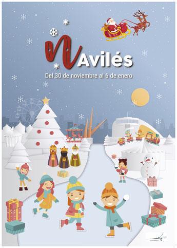 Fiestas en Aviles Navidad