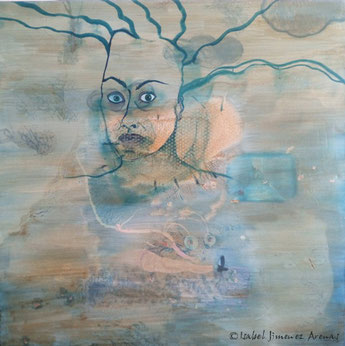 Incomprensión,  óleo sobre lienzo, 130 x 135 cm.