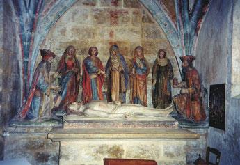 Skulptur der Grablegung