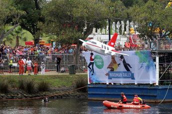 Birdman Rallye, Moomba Festival, Flugshow, Melbourne, Australien