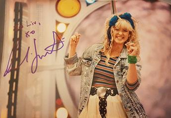 Cobie Smulders autograph at FACTS convention