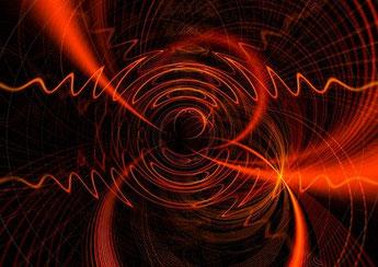 die Infrarotwellen entwickeln durch den Einsatz des Schaumglas eine Interferenz und vervielfachen den aktiven Infrorotanteil