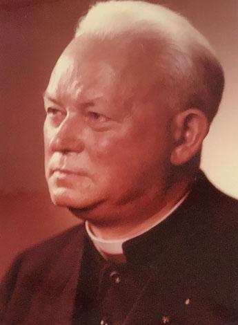 Domkapitular Reinhold Friedrichs