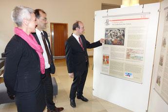 v.l.n.r.:Barbara Leicht, Peter Ehrensberger, Dr. Frank Präger; Foto: Dr. Franz Janka
