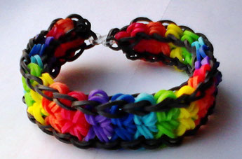 Rainbow Loom Three Treats