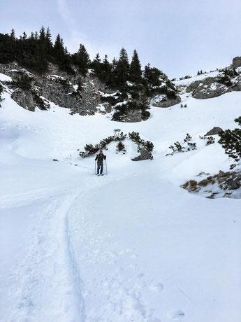 Abstiegsweg zur Seben Alpe