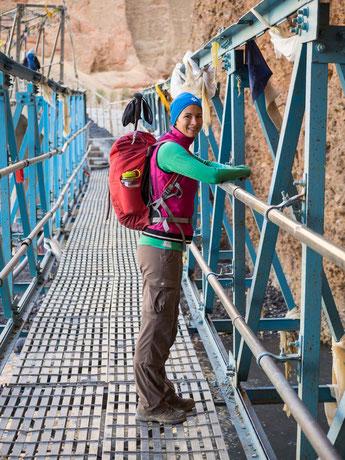 Brücke über den Kali-Gandaki