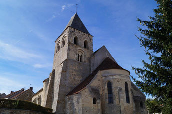 L'église Saint-Martin de Montlevon date du XIème siècle.
