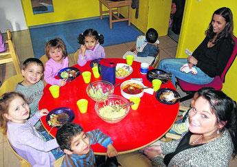 Die Kapazitäten für die Betreuung von Kindern unter drei Jahren – unser Bild zeigt die Tagesstätte für spanische Kinder des SkF – sollen in Stolberg weiter ausgebaut werden. Der Bund will dafür 356000 Euro zur Verfügung stellen.