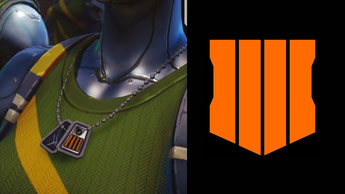 Call of Duty Black Ops 4 Dog Tag in Fortnite