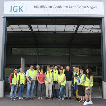 Exkursion zur IGK-Bildungs-Akademie Bonn/Rhein-Sieg e.V.