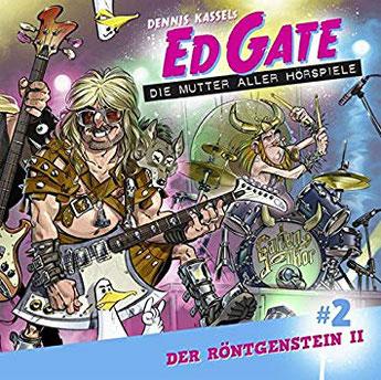 CD-Cover Ed Gate und der Röntgenstein Teil 2