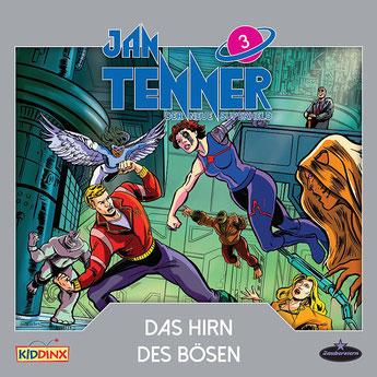 CD-Cover Jan Tenner - Das Hirn des Bösen