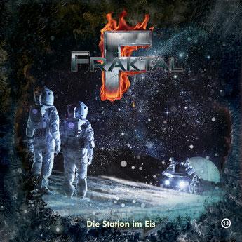 CD-Cover Fraktal - Folge 13 - Die Station im Eis