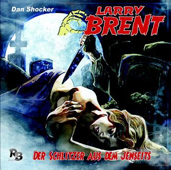 CD-Cover Larry Brent - Der Schlitzer aus dem Jenseits -  Folge 33