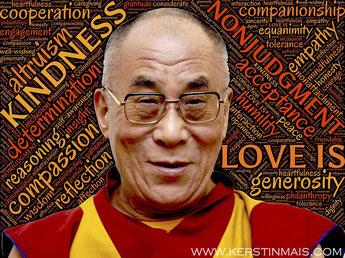 Dalai Lama  bei Fitness für Körper und Geist