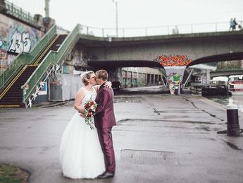 Hochzeitspaar Paar Foto Shooting Wien