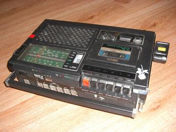 RFT Radiorecorder Stern R 4100 mit LCD-Wecker 1987