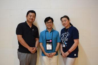 日本ファンドレイジング協会「東北チャプター」共同代表の3人(左から葛巻さん、山崎さん、鈴木さん)